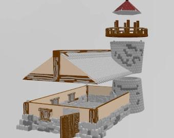 The Light House - DND - Dungeons & Dragons - RPG - Pathfinder - Tabletop - TTRPG - Imagination Forge  - 28 mm
