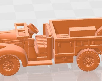 Chevrolet 3t gs-24  - Canada - Tanks - Armored Vehicle - World Of Tanks - War Game - Wargaming - Axis and Allies - Tabletop Games