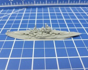 Battleship - New Mexico - 1945 Variant -US Navy - Wargaming - Axis and Allies - Naval Miniature - Victory at Sea - Tabletop Games - Warships