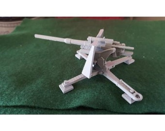 Flak 36 88mm – Model 1938 M-30 - Great for Table Top War Games And Dioramas - Resin 28mm Miniatures - Bolt Action -