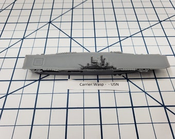 Carrier - Wasp - USN - Wargaming - Axis and Allies - Naval Miniature - Victory at Sea - Tabletop Games - Warships