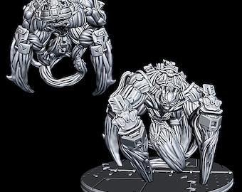 "Hive Lurker - Novus Landing - Starfinder - Cyberpunk - Science Fiction - Syfy - RPG - Tabletop - Scatter- Terrain- 28 mm / 1"""