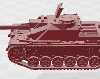 Stug IIIG Set 3 - Germany - Tanks - Armored Vehicle - World Of Tanks - War Game - Wargaming -Tabletop Games