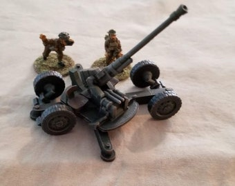 Bofors 40mm AA Gun/Auto Cannon – Model 1938 M-30 - Great for Table Top War Games And Dioramas - Resin 28mm Miniatures - Bolt Action -