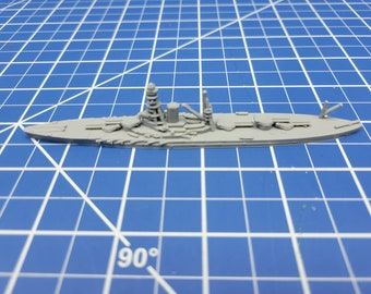 Battleship - Tosa - IJN -  Wargaming - Axis and Allies - Naval Miniature - Victory at Sea - Tabletop Games - Warships