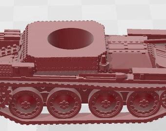 PZ38T - Germany - Tanks - Armored Vehicle - World Of Tanks - War Game - Wargaming -Tabletop Games