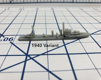 Destroyer - E Class - Royal Navy - Wargaming - Axis and Allies - Naval Miniature - Victory at Sea - Tabletop Games - Warships