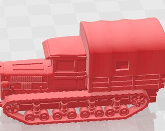 Russian Tractors - USSR - Tanks - Armored Vehicle - World Of Tanks - War Game - Wargaming - Axis and Allies - Tabletop Games