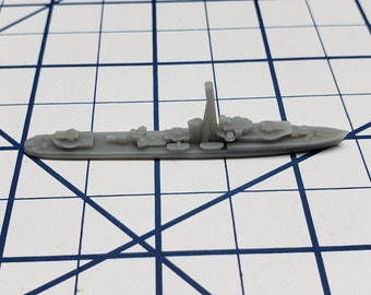 Destroyer - N Class - Royal Navy - Wargaming - Axis and Allies - Naval Miniature - Victory at Sea - Tabletop Games - Warships