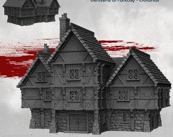 Guildhall - DND - Dungeons & Dragons - RPG - Pathfinder - Tabletop - TTRPG - Demizens of Fantasy - Dark Realms - 28 mm