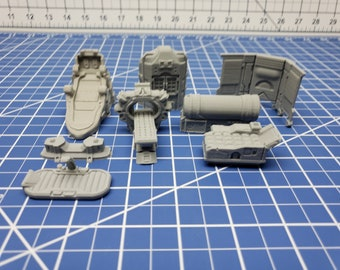 Med Bay Items - Ignis Quadrant - Starfinder - Cyberpunk - Science Fiction - Syfy - RPG - Tabletop - Scatter - Terrain