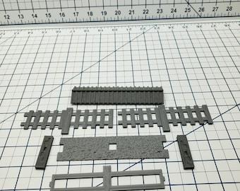 "Samurai Wooden Walls - DND - Pathfinder - Dungeons & Dragons - Warhammer - Test of Honour - RPG - Tabletop - 28 mm / 1"""