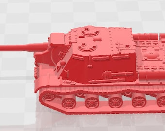 ISU-122 - USSR - Tanks - Armored Vehicle - World Of Tanks - War Game - Wargaming - Axis and Allies - Tabletop Games
