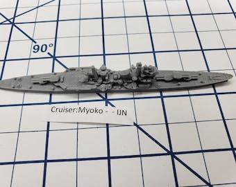 Cruiser - Myoko - IJN - Wargaming - Axis and Allies - Naval Miniature - Victory at Sea - Tabletop Games - Warships