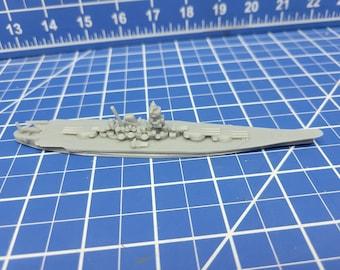 Battleship - IJN Yamato - 1941 Variant - Wargaming - Axis and Allies - Naval Miniature - Victory at Sea - Tabletop Games - Warships