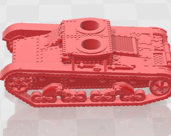 T-26 - USSR - Tanks - Armored Vehicle - World Of Tanks - War Game - Wargaming - Axis and Allies - Tabletop Games