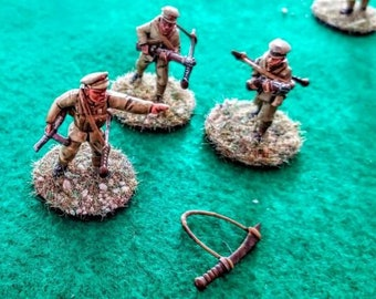Nationalist Chinese Big Sword - Great for Table Top War Games And Dioramas - Resin 28mm Miniatures - Bolt Action -