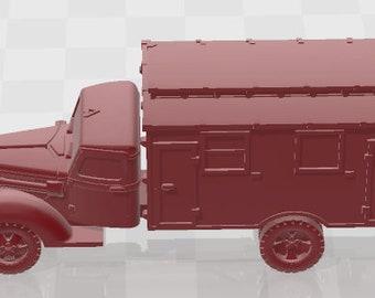 Ford V3000 Set 1 - Germany - Tanks - Armored Vehicle - World Of Tanks - War Game - Wargaming -Tabletop Games