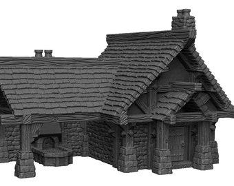 Forge - DND - Dungeons & Dragons - RPG - Pathfinder - Tabletop - TTRPG - Demizens of Fantasy - Dark Realms - 32 mm