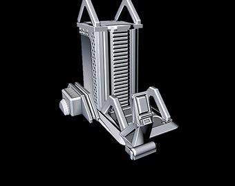 "Gravity Lift - Novus Landing - Starfinder - Cyberpunk - Science Fiction - Syfy - RPG - Tabletop - Scatter - Terrain - 28 mm / 1"""