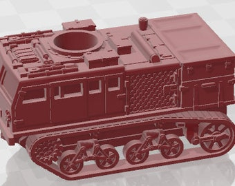 M4 HST Class A - USA - Tanks - Armored Vehicle - World Of Tanks - War Game - Wargaming - Axis and Allies - Tabletop Games