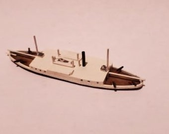 USS Commodore Perry - Union - Ships - Sailboats - Age of Sail - War Game - Wargaming - Tabletop Games - 1/600 Scale