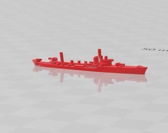 Torpedo Boat - Orsa Class - Italian Navy - Wargaming - Axis and Allies - Naval Miniature - Victory at Sea - Tabletop Games - Warships