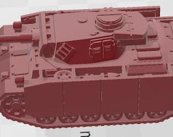 PZ-III-M Schurzen - Germany - Tanks - Armored Vehicle - World Of Tanks - War Game - Wargaming -Tabletop Games