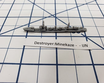 Destroyer - Minekaze Class - IJN - Wargaming - Axis and Allies - Naval Miniature - Victory at Sea - Tabletop Games - Warships