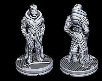 """Syndicate Contact - Novus Landing - Starfinder - Cyberpunk - Science Fiction - Syfy - RPG - Tabletop - Scatter- Terrain- 28 mm / 1"""""""