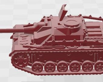 Stug IIIG Set 4 - Germany - Tanks - Armored Vehicle - World Of Tanks - War Game - Wargaming -Tabletop Games