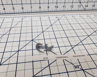 Aircraft - B-26 - US Navy - 1:900 - Wargaming - Axis and Allies - Naval Miniature - Victory at Sea - Tabletop Games - Warships