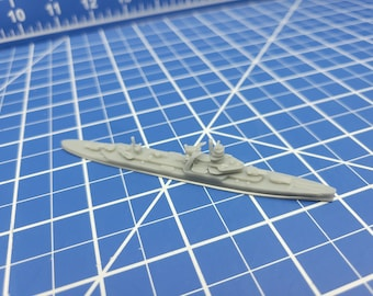 Cruiser - De Zeven Provincien - Netherland Navy - Wargaming - Axis and Allies - Naval Miniature - Victory at Sea - Tabletop Games - Warships