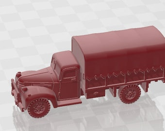 Chevrolet 3t gs-13  - Canada - Tanks - Armored Vehicle - World Of Tanks - War Game - Wargaming - Axis and Allies - Tabletop Games