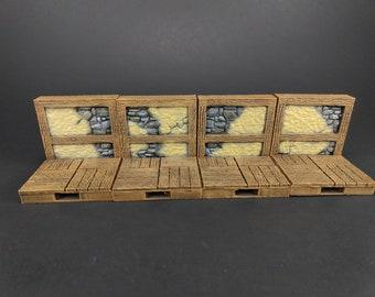 Towne Terrain Starter Set 26 Tiles! - OpenLock - Openforge - DND - Pathfinder - RPG - Tabletop