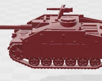 Stug IIIG Set 2 - Germany - Tanks - Armored Vehicle - World Of Tanks - War Game - Wargaming -Tabletop Games