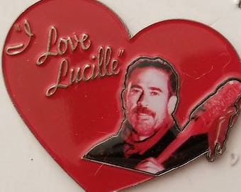 "The Walking Dead Negan ""I Love Lucille"" Pin"