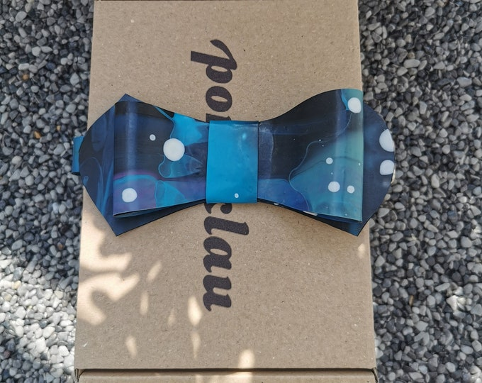 Latex Bow Tie 'Galaxy 2.0'