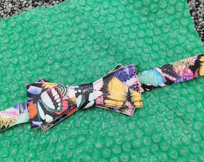 Kunstlederfliege ' Butterfly'