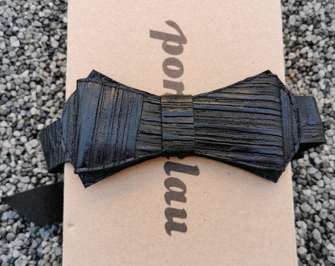 Kunstlederfliege 'Holz'