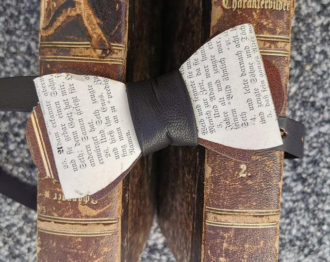 Bücher Fliege 'braun/gold'