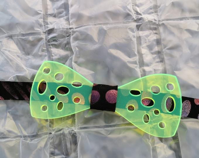 Acrylic bow tie 'cheese'