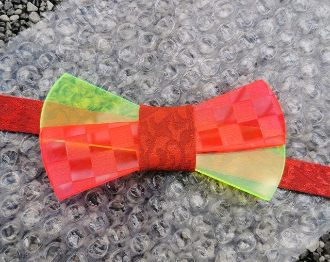 Acrylic bow tie 'Crazy Box'