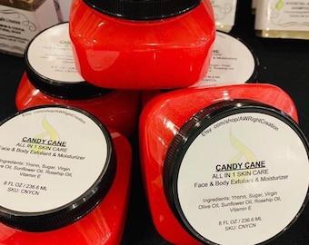 Candy Cane Exfoliator