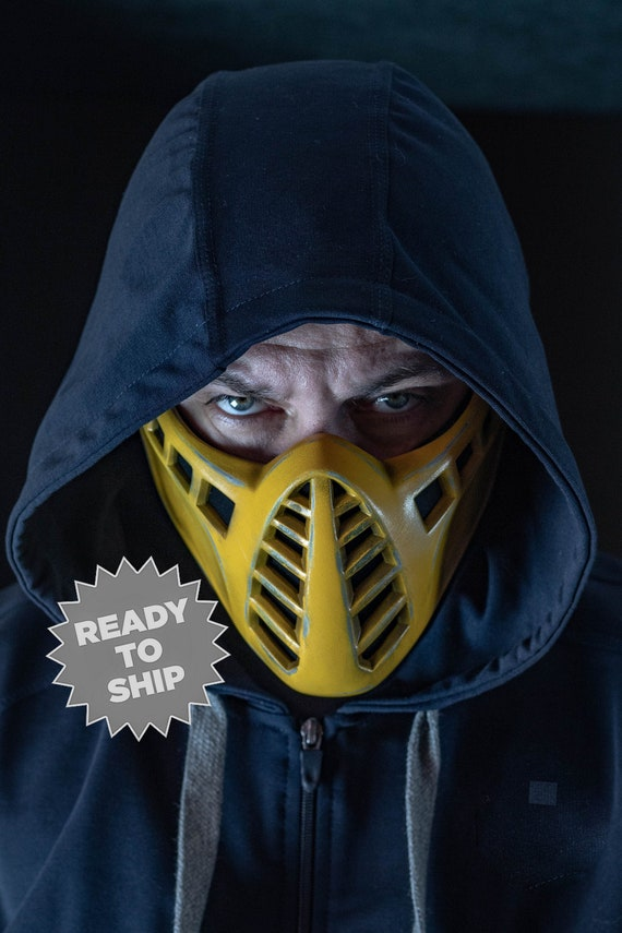 Scorpion Mask Mk11 Classic For Cosplay Etsy