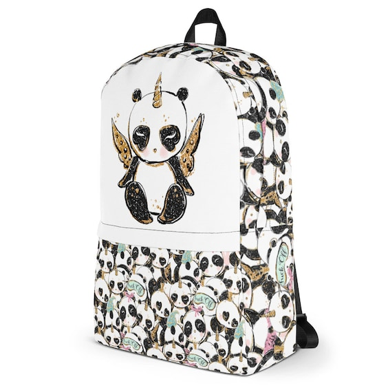 Pandacorn Backpack, Pandas Backpack, Pandacorn , Panda Bag, Panda School Bag, Panda Gift, Panda Design Cute Pandas, Ballerina Panda, Great P