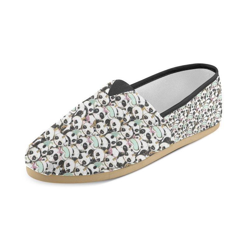 ca698840d5a Women s Casual Shoes Panda Print Casual Shoes Gifts For