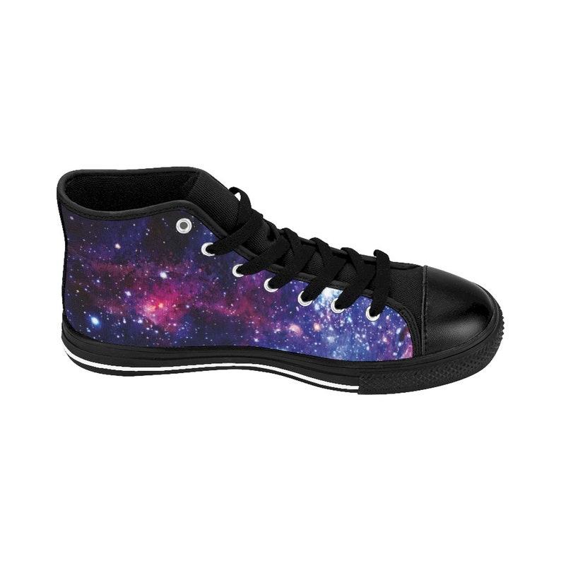 Galaxy print Trainers Space Sneakers Custom Trainers Galaxy Shoes  Women/'s  High Top Sneakers Space Pattern Space Pattern shoes