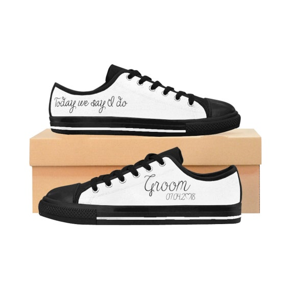 Wedding Trainers Personalized Groom