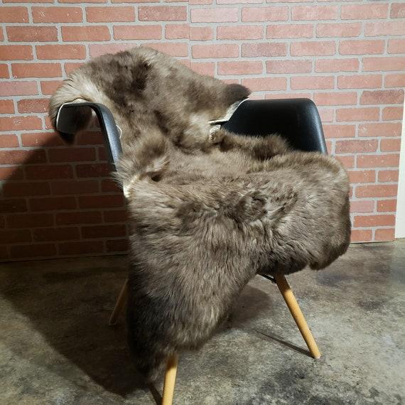 Silky soft and supple Genuine sheepskin shearling Lambskin pelt